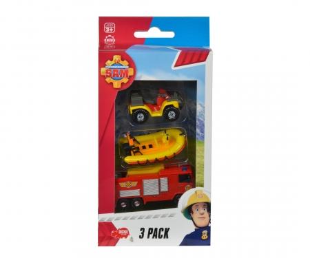 Fireman Sam 3 Pack