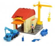 Bob der Baumeister Garagen Spielset Heppo und Wendy