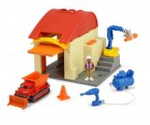 Bob the Builder Garage Playset Muck and Leo