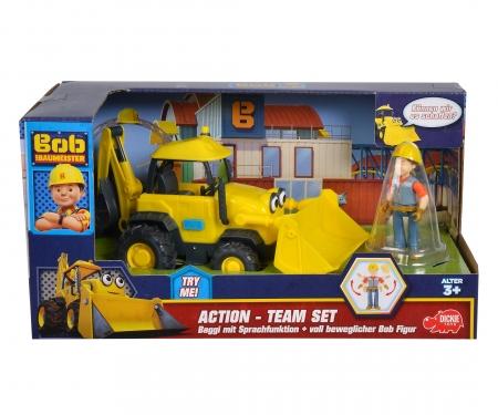 Équipe d'action Baggi Bob le bricoleur + Bob