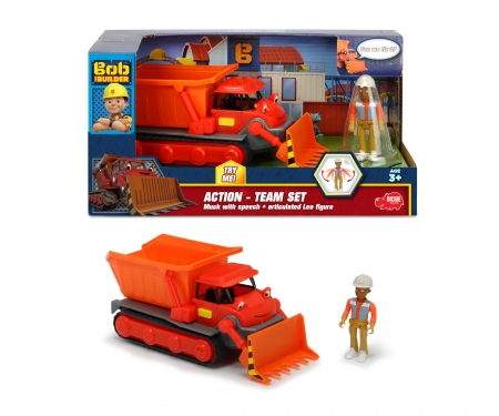 Bob the Builder Action Team Muck + Leo