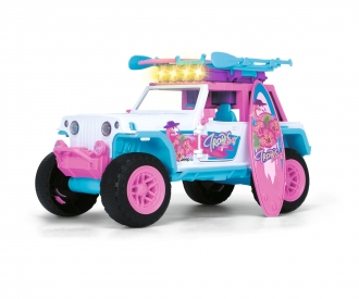 Pink Drivez Flamingo Jeep
