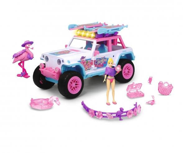 Pink Drivez Flamingo Jeep