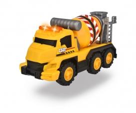 Camion mixeur de béton avec sons et lumières