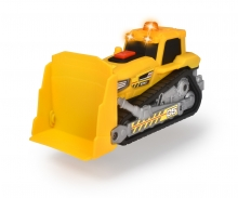 Bulldozer with light and sound