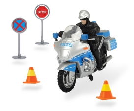 Polizeimotorrad Set