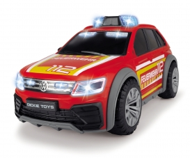 VW Tiguan R-Line Fire Car