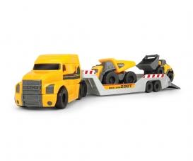 Mack Truck mit 2 Volvo Fahrzeugen