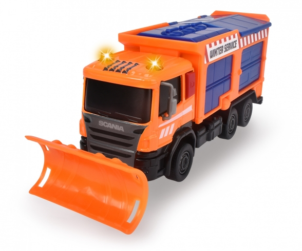 Scania Snow Plow Truck