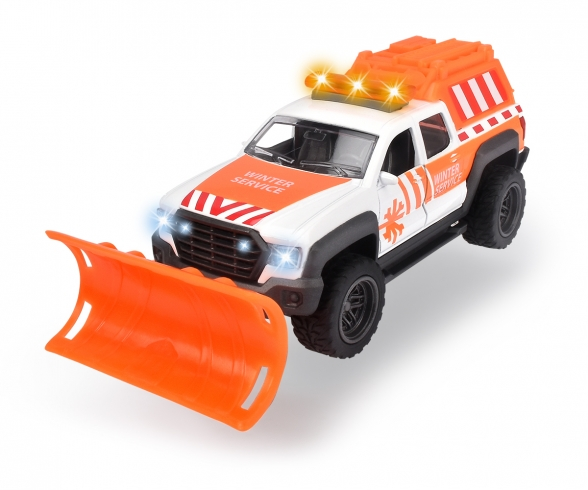 Pick-up chasse-neige