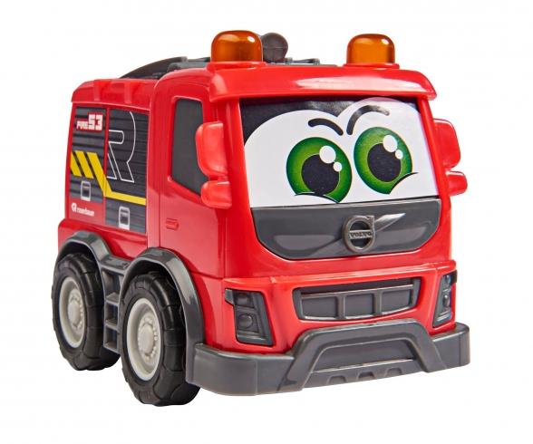 Set aus Sachbuch und Fahrzeug: Feuerwehr