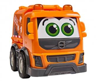 Set aus Sachbuch und Fahrzeug: Müllabfuhr
