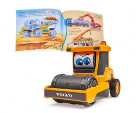 Set aus Sachbuch und Fahrzeug: Baustelle