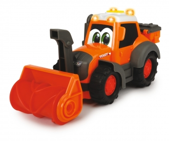 Happy Fendt Traktor mit Schneefräse und Schneeschild