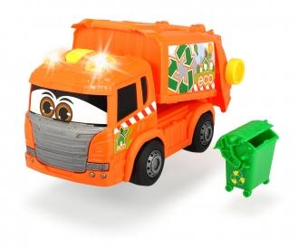Happy Garbage Collector Müllfahrzeug