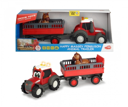 Happy Massey Ferguson Animal Trailer