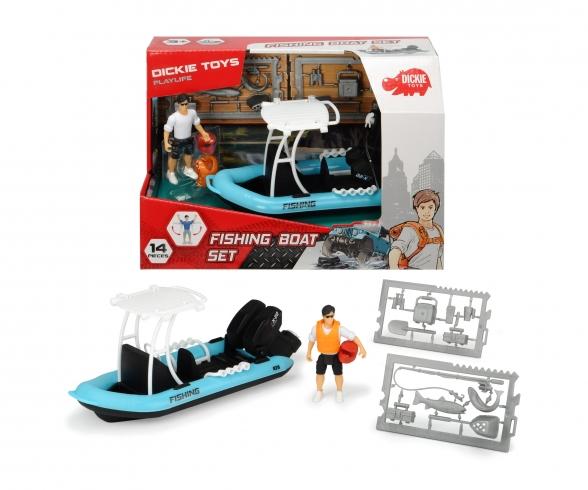 Playlife Fishing Boat Set