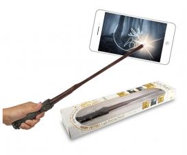 Baguette magique et crayon lumineux de Harry Potter