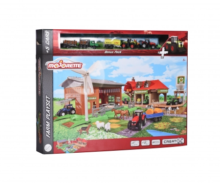 WOW Creatix Big Farm + 5 vehicles Bonus