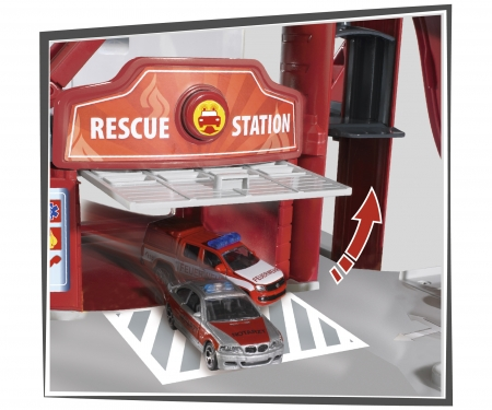 Creatix Rescue Station + 5 Vehicles