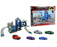 Creatix Police Playset+5 vehicles