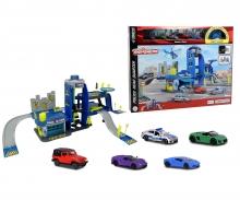 Creatix Polizeistation + 5 Autos