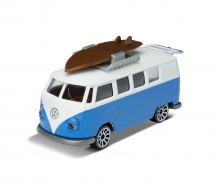 VW T1 with surfboard