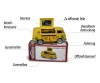 VW T1 Mexcian Foodtruck + Collectors box