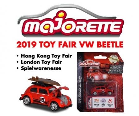 """VW Käfer mit Surfbrett """"Spielwarenmesse 2019"""""""
