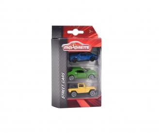 3er Set - Ford GT / Dodge Challenger / Jeep Rubicon X