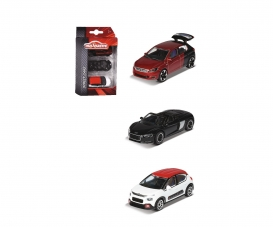 3 Pieces Set, Peugeot 308 GT, Audi R8 Spyder, Citroën C3