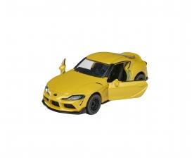 Premium Cars Toyota Supra yellow