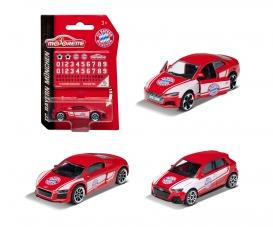 FC Bayern München Premium Car inkl. Sammelkarte (Zufallsauswahl am Lager - Lieferung 1 Stück)