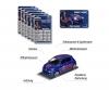 Paris Saint-Germain Premium Car inkl. Sammelkarte (Zufallsauswahl am Lager - Lieferung 1 Stück)