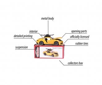 Porsche Deluxe Car, 1 pièce