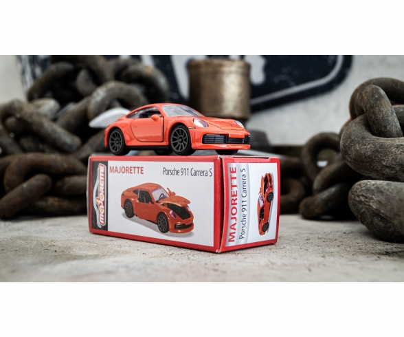 Deluxe Porsche 911 Carrera S -  Orange