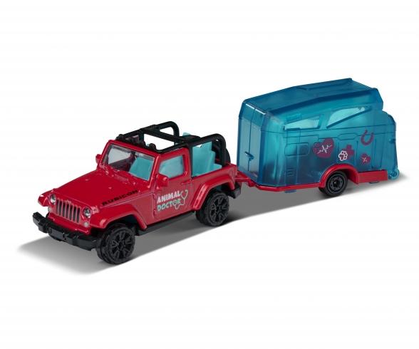 Jeep Wrangler+Horse Trailer