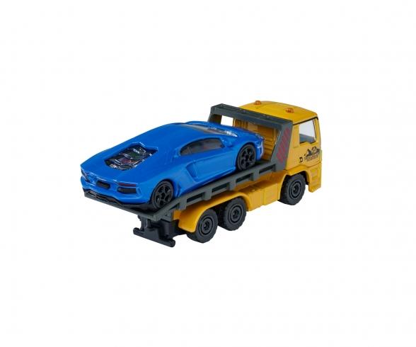 MAN TGS Tow Truck with Lamborghini Aventador