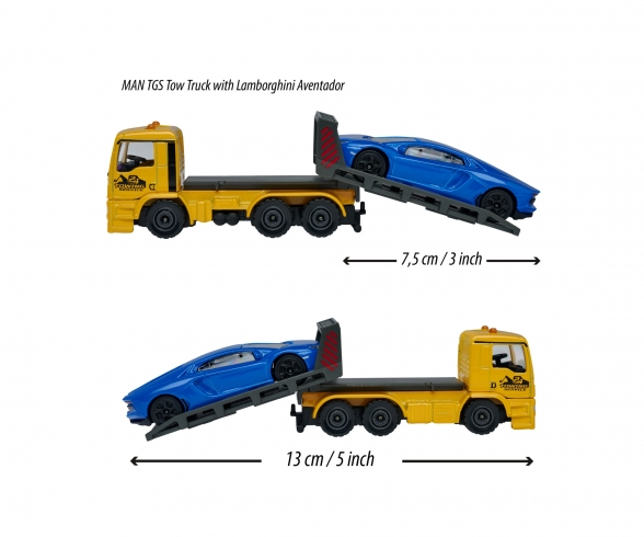 MAN TGS Tow Truck with Ford GT