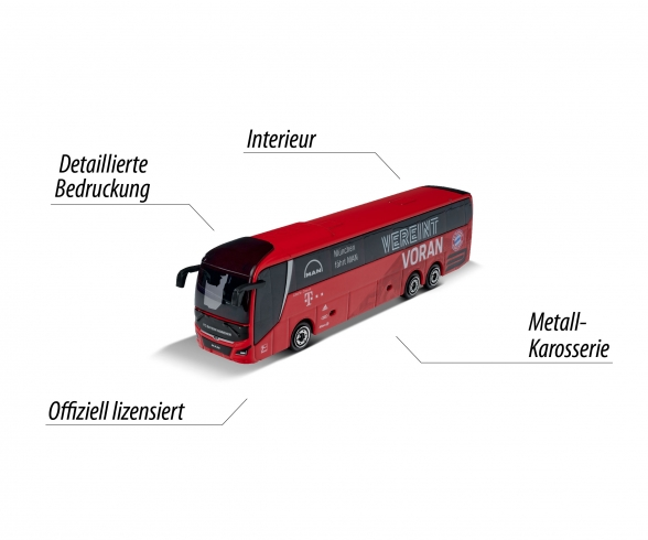 FC Bayern Munich - MAN Lion's Coach L Supreme Teambus