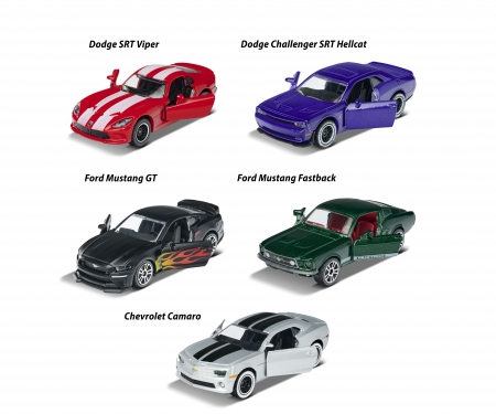 Muscle Cars 5 pcs Giftpack