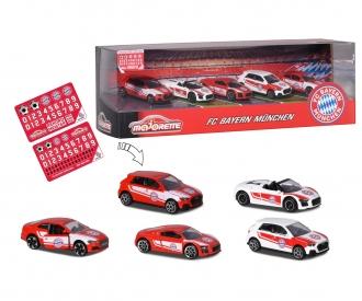 FC Bayern München 5er Geschenkset inkl. Stickerbogen