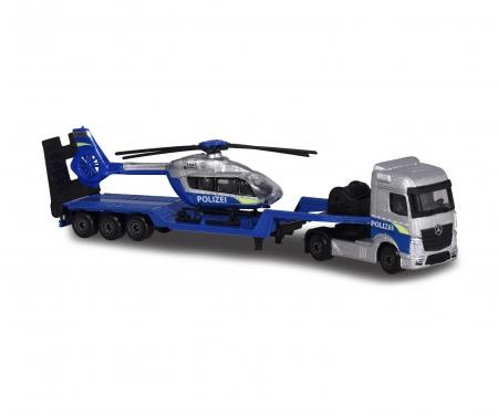 Mercedes-Benz Polizei Transporter +Helikopter