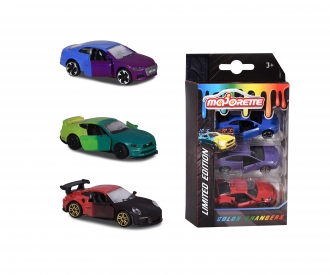 Limited Edition 6, Color Changers 3 Pieces Set