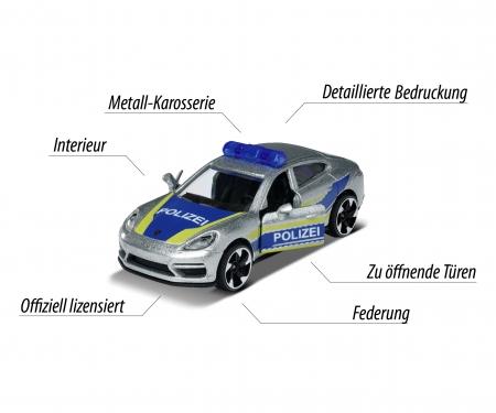 Majorette Porsche Panamera Polizei