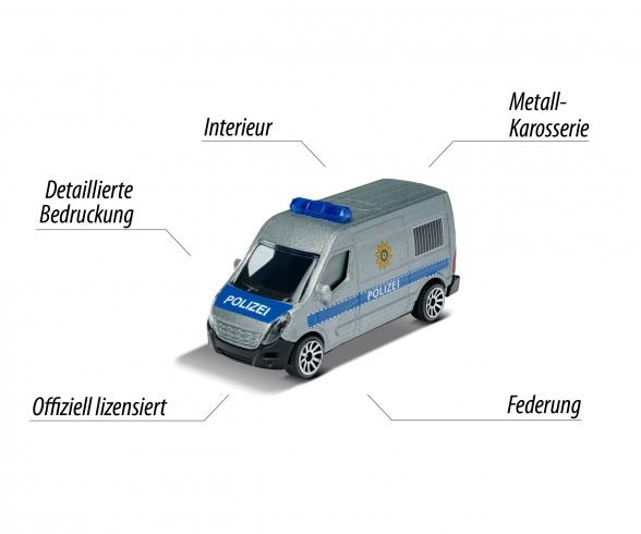 Polizei Renault Master