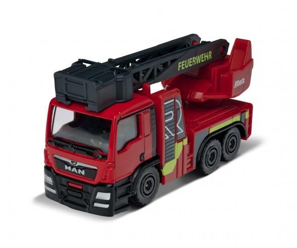 S.O.S. MAN TGS Rosenbauer Fire Engine