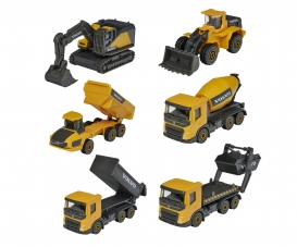 Volvo Construction 3 Pieces Set, 2-asst. (delivery 1 set only)