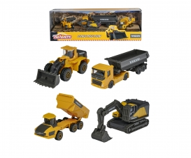 Volvo Construction 4 Pieces Giftpack