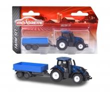 Majorette Farm Small Set Valtra T4 with Trailer